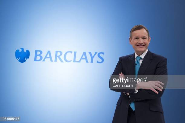 Anthony Jenkins Group Chief Executive of Barclays bank poses for photographers during an interval in a media conference in central London on February...