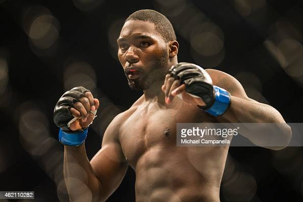 Anthony Johnson of the United States during the UFC Fight Night event at Tele2 Arena on January 24 2015 in Stockholm Sweden