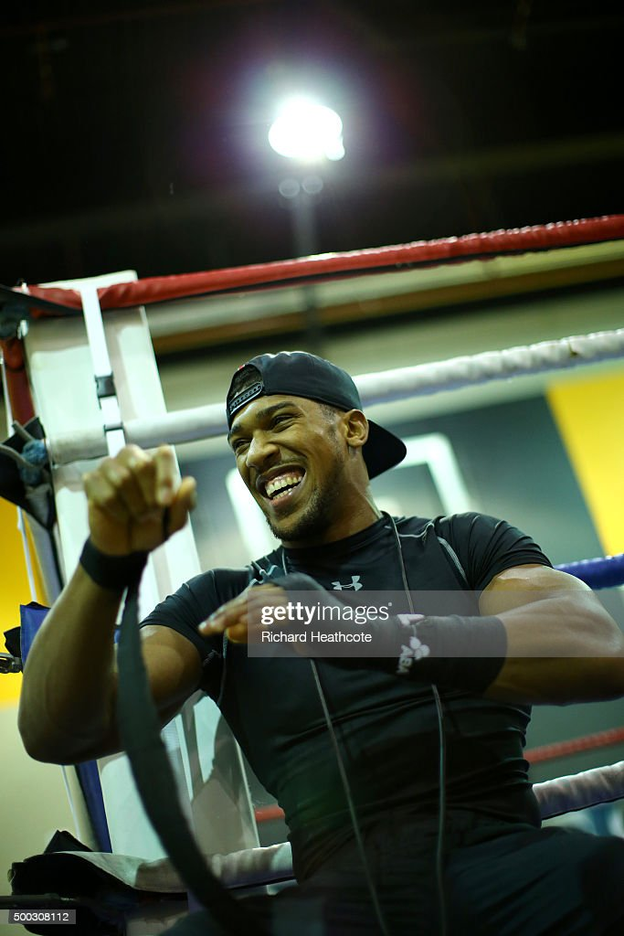 Anthony Joshua, Chris Eubank Jr & Kevin Mitchell Media Work-Out