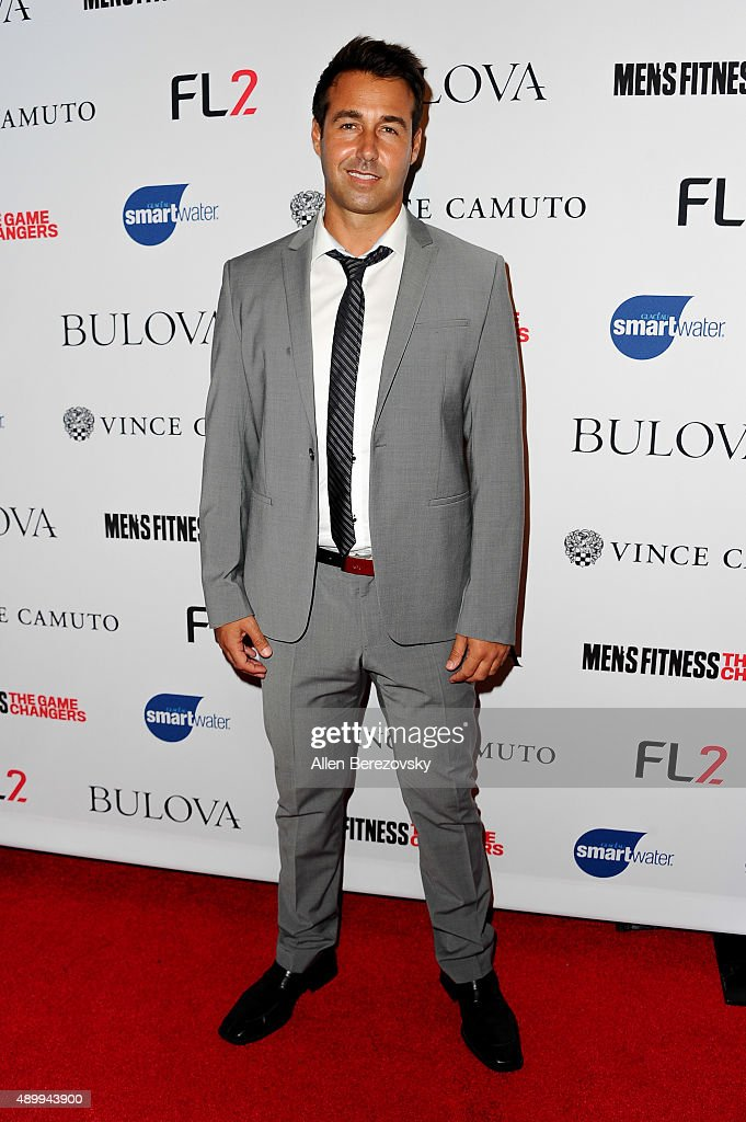 Anthony Katz attends Men's Fitness Magazine Hosts Annual 'Game Changers' Celebration at Palihouse on September 24, 2015 in West Hollywood, California.