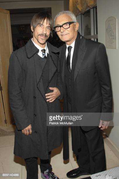 Anthony Kiedis and Vidal Sassoon attend Diana Jenkins Presents 'Room 23' Featuring Photography by Deborah Anderson Sponsored by Jenkins' Neuro Brands...