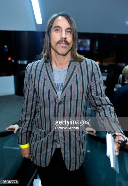 Anthony Kiedis appears at ALAC Opening Night at Pacific Design Center on January 28 2010 in West Hollywood California