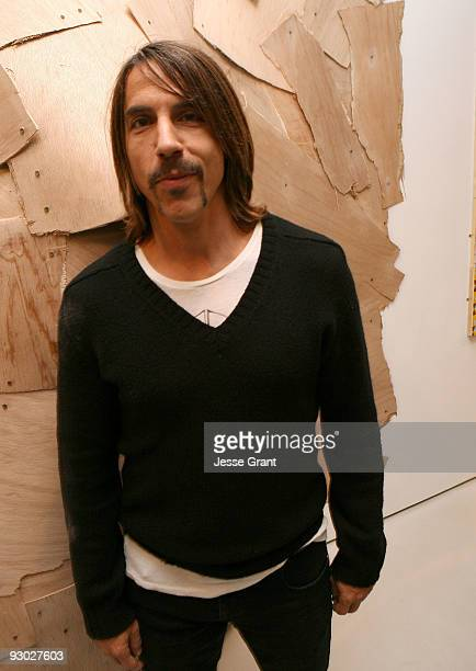 Anthony Kiedis attends the 'Mind The Gap' presented by PRISM in association with RVCA Network Program event held at Prism on November 12 2009 in West...