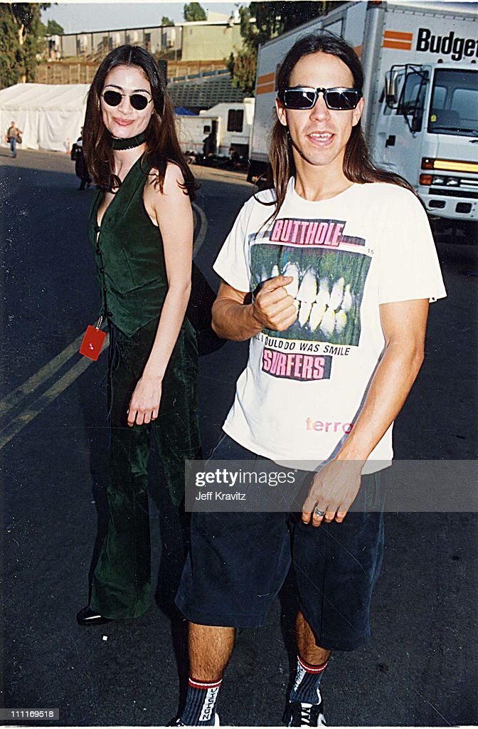 Anthony Kiedis during 1993 MTV Video Music Awards in Los Angeles, California, United States.