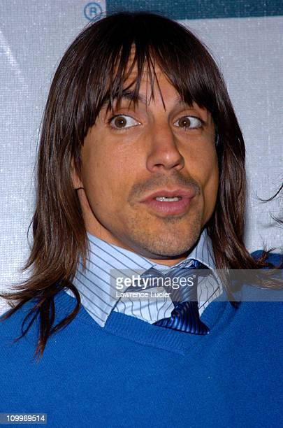 Anthony Kiedis during 3rd Annual Tribeca Film Festival Lets Rock Again Premiere in New York City New York United States