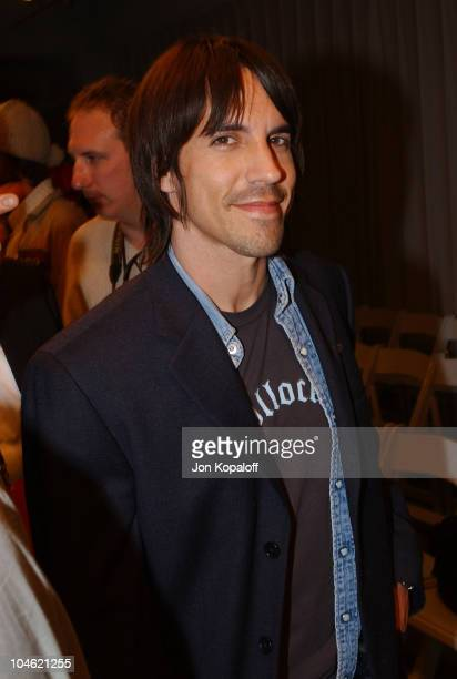 Anthony Kiedis during Playstation 2 Hosts Shawn At LA Fashion WeekFashion Show and Party at The Standard Hotel Downtown in Los Angeles California...