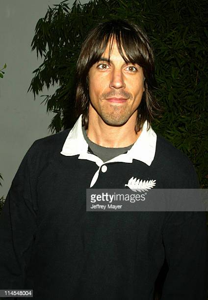 Anthony Kiedis during Stella McCartney Los Angeles Store Opening Arrivals at Stella McCartney Store in Los Angeles California United States
