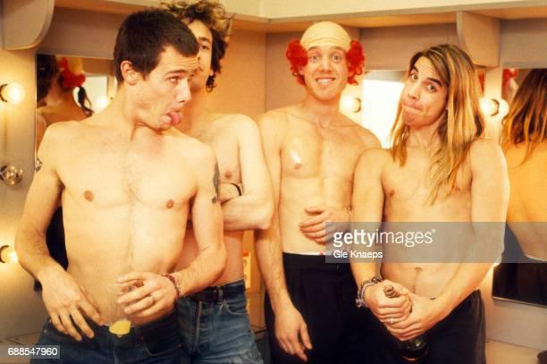 Anthony Kiedis Flea Hillel Slovak Jack Irons Red Hot Chili Peppers Ancienne Belgique Brussels Belgium