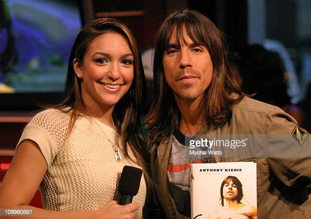 Anthony Kiedis of the Red Hot Chili Peppers and Marionella