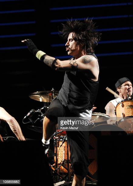 Anthony Kiedis of The Red Hot Chili Peppers during 2007 Coachella Valley Music and Arts Festival Day 2 at Empire Polo Field in Indio California...