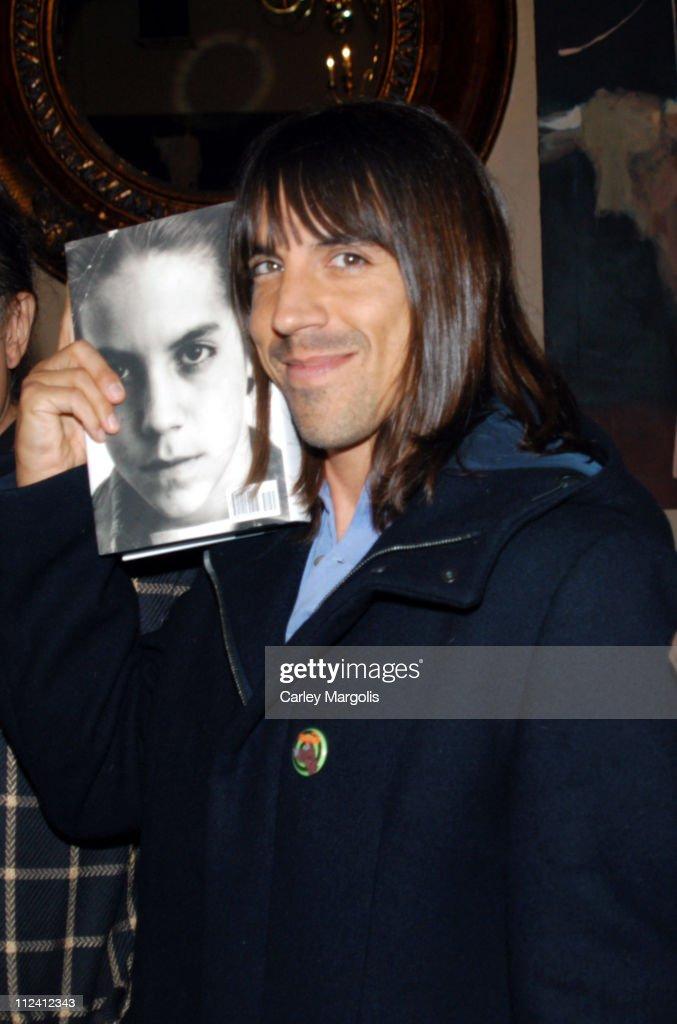 "Anthony Kiedis Celebrates the Release of His New Book ""Scar Tissue"""