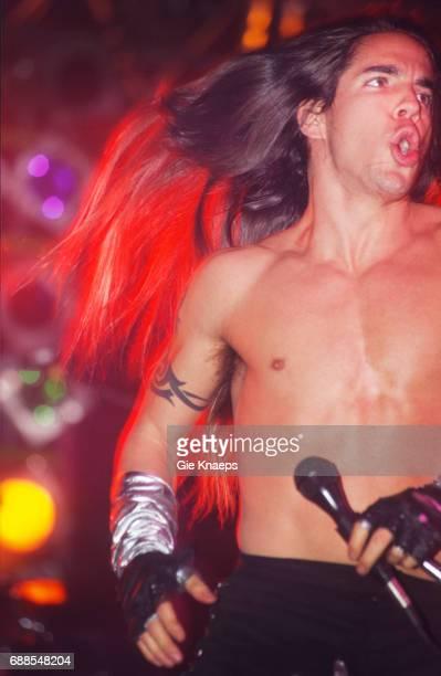 Anthony Kiedis Red Hot Chili Peppers Brielpoort Deinze Belgium