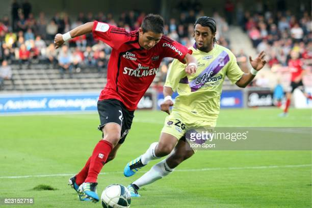Anthony KNOCKAERT / Khaled MELLITI Guingamp / Istres 5eme journee de Ligue 2