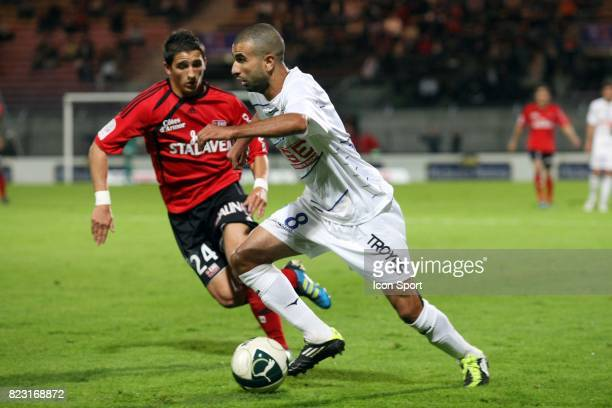 Anthony KNOCKAERT / Mounir OBBADI Guingamp / Troyes 7e journee Ligue 2
