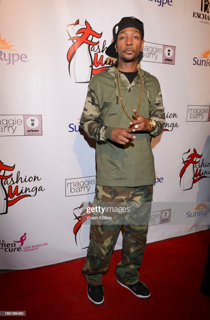 Anthony 'Krayzie Bone' Henderson attends Fashion Minga - Art.Music.Dance. at Exchange LA on October 17, 2013 in Los Angeles, California.