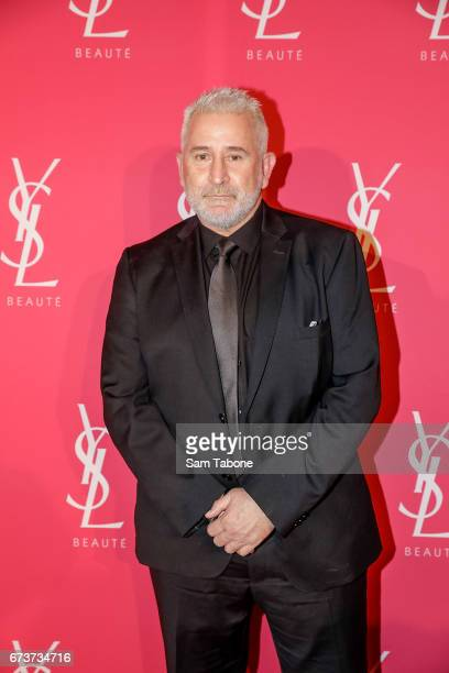 Anthony LaPaglia arrives at Meat Market as YSL Beauty Club Takes Over Melbourne on April 27 2017 in Melbourne Australia