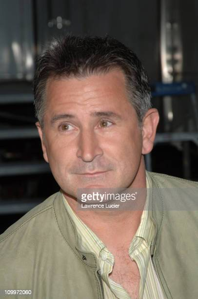 Anthony LaPaglia during Mariah Carey Ana Gasteyer and Anthony LaPaglia Appear Outside The Late Show with David Letterman April 14 2005 at Ed Sullivan...