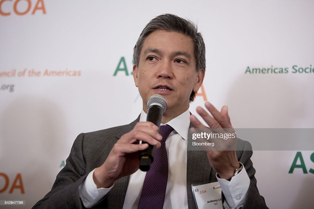 Anthony Lim, president of Americas for the Government of Singapore Investment Corp., speaks during a panel discussion at the Argentina Investment Conference in New York, U.S., on Friday, June 24, 2016. The Argentina Investment Conference 2016 brought together senior policy makers, investors, and international and national business leaders for an insightful discussion on foreign investment in Argentina. Photographer: Eric Thayer/Bloomberg via Getty Images