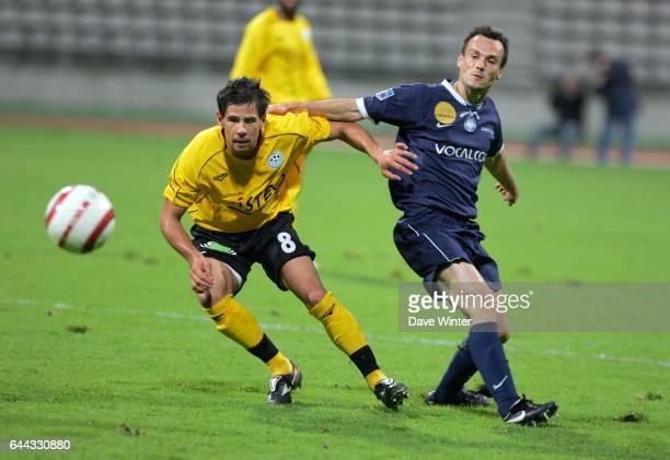 Anthony LOPEZ PERALTA / Jean Marie DAVID Paris FC / Tours 11 eme journee de National Photo Dave Winter / Icon Sport