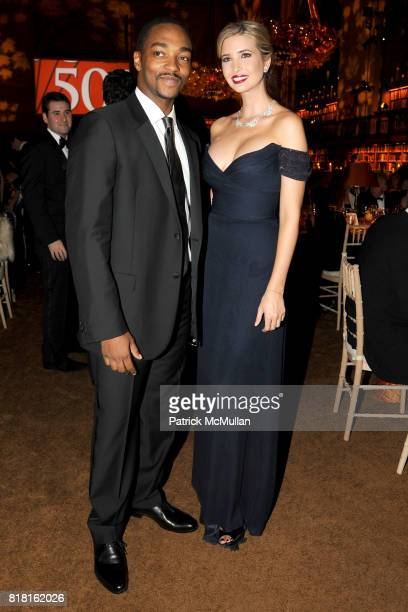 Anthony Mackie and Ivanka Trump attend The 2010 LIBRARY LIONS GALA at The New York Public Library on November 1 2010 in New York City