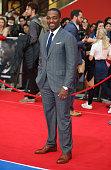 Anthony Mackie arrives for UK film premiere 'Captain America Civil War' at Vue Westfield on April 26 2016 in London England