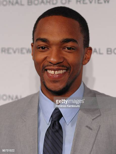 Anthony Mackie attends the 2010 National Board of Review Awards Gala at Cipriani 42nd Street on January 12 2010 in New York City