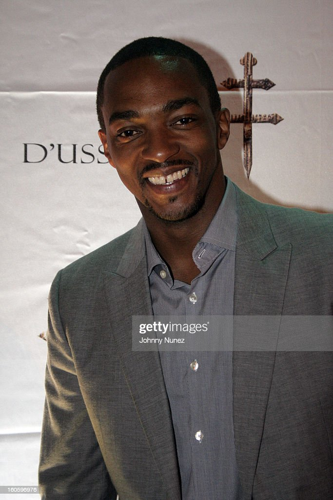 Anthony Mackie attends the Jay-Z & D'Usse Super Bowl Party at The Republic on February 2, 2013, in New Orleans, Louisiana.
