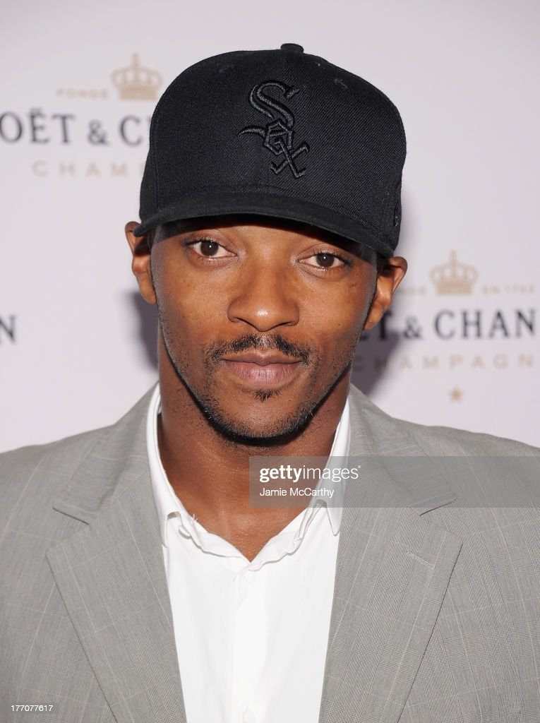 Anthony Mackie attends the Moet & Chandon 270th Anniversary at Pier 59 Studios on August 20, 2013 in New York City.