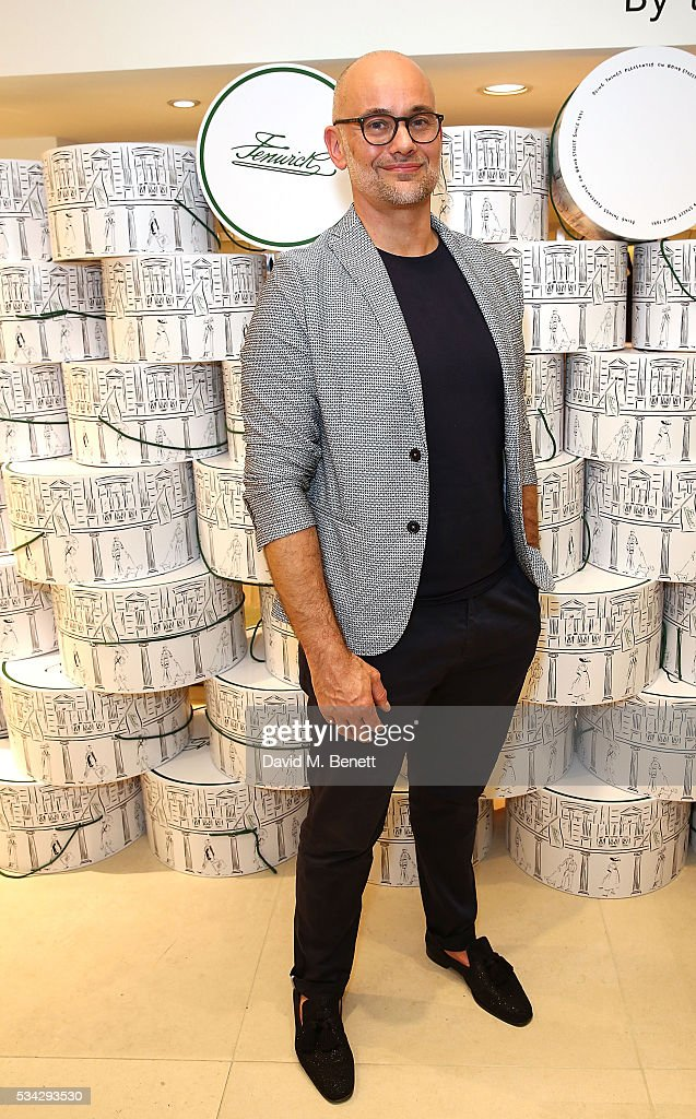 Anthony Marklew attends 'Decades of Drama' at Fenwicks Bond Street on May 25, 2016 in London, England.