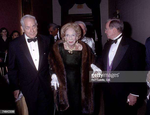 Anthony Marshall Brooke Astor and guest at the Plaza Hotel in New York City New York