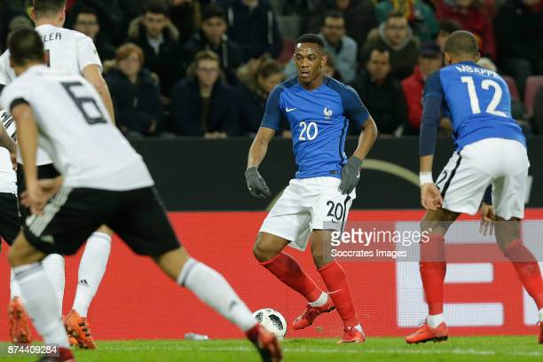 Anthony Martial of France during the International Friendly match between Germany v France at the RheinEnergie Stadium on November 14 2017 in Koln...