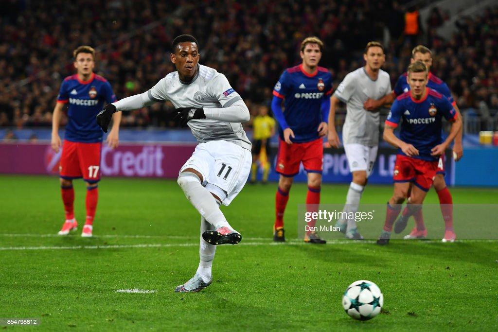 CSKA Moskva v Manchester United - UEFA Champions League