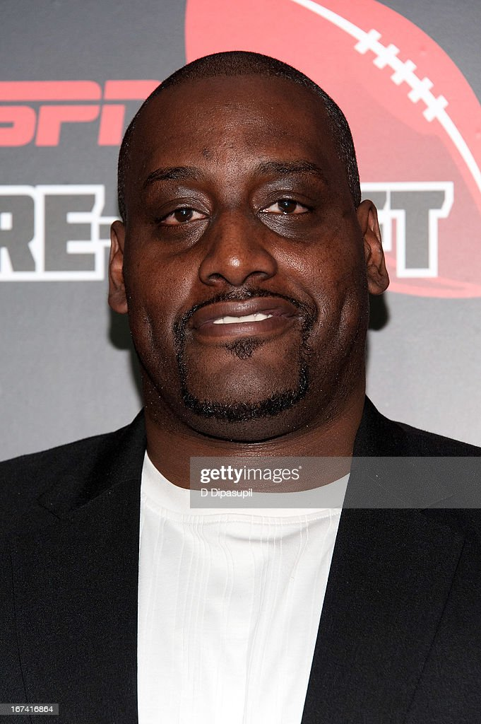 Anthony Mason attends the ESPN The Magazine 10th annual Pre-Draft Party at The IAC Building on April 24, 2013 in New York City.