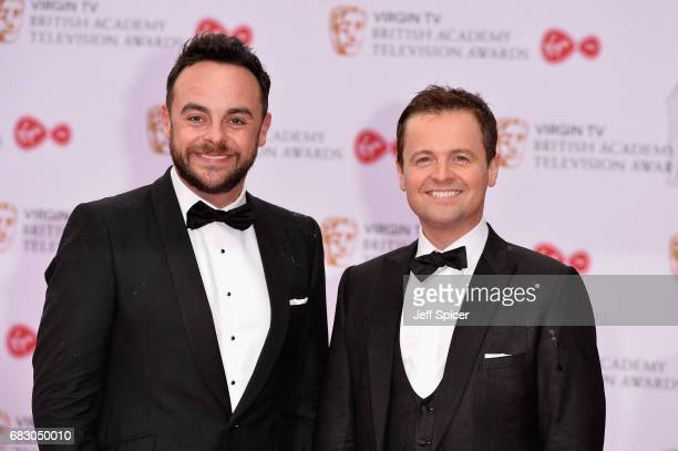 Anthony McPartlin and Declan Donnelly aka Ant and Dec attend the Virgin TV BAFTA Television Awards at The Royal Festival Hall on May 14 2017 in...