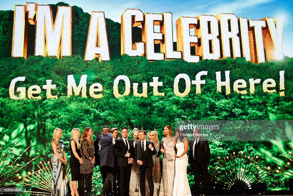 Anthony McPartlin and Declan Donnelly and the cast of 'I'm A CelebrityGet Me Out Off Here' win the award for Best Entertainment Programme at the 21st...