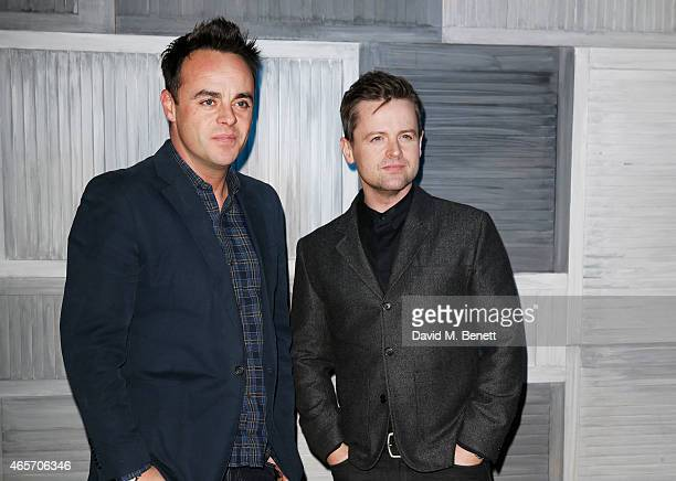 Anthony McPartlin and Declan Donnelly arrives at a party hosted by Instagram's Kevin Systrom and Jamie Oliver This is their second annual private...