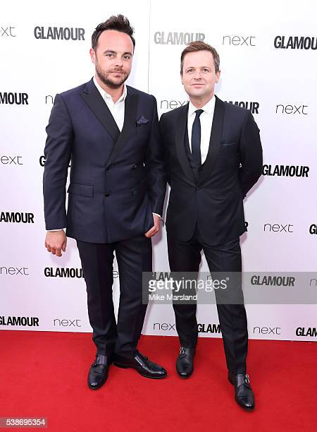 Anthony McPartlin and Declan Donnelly arrives for the Glamour Women Of The Year Awards on June 7 2016 in London United Kingdom