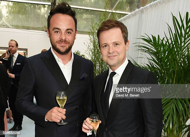 Anthony McPartlin and Declan Donnelly attend the Glamour Women Of The Year Awards in Berkeley Square Gardens on June 7 2016 in London United Kingdom
