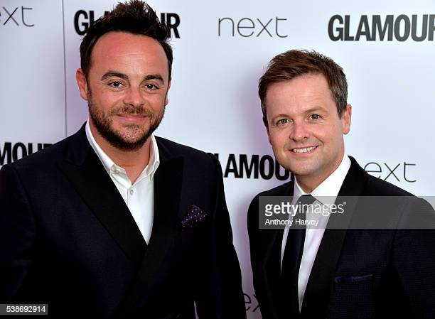 Anthony McPartlin and Declan Donnelly attend the Glamour Women Of The Year Awards at Berkeley Square Gardens on June 7 2016 in London England