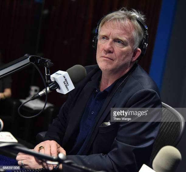 Anthony Michael Hall visits the SiriusXM Studios on May 24 2017 in New York City