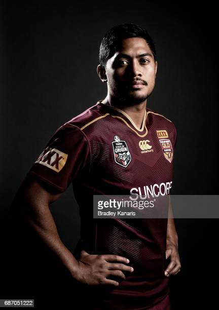 Anthony Milford poses for a portrait during a Queensland Maroons State of Origin media opportunity at Rydges South Bank on May 23 2017 in Brisbane...
