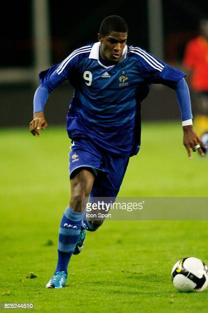 Anthony MODESTE Belgique / France Eliminatoires Euro Espoirs Mouscron