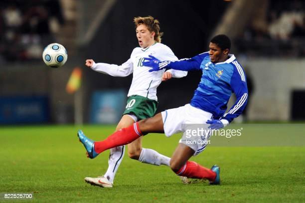 Anthony MODESTE / Kevin KAMPL France / Slovenie Eliminatoires Euro Espoirs Stade Auguste Delaue Reims
