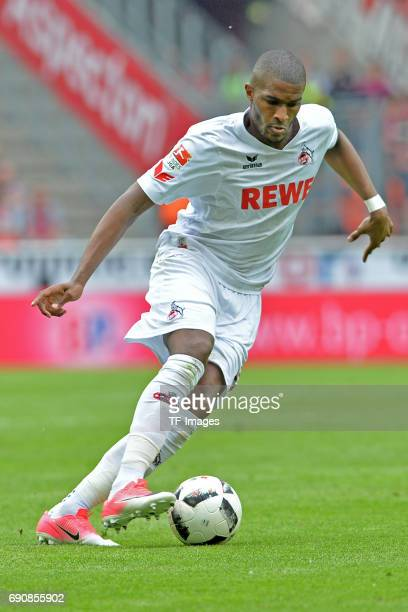 Anthony Modeste of Colonge in action during the Bundesliga Match between 1FC Koeln and1 FSV Mainz 05 at RheinEnergieStadion on May 20 2017 in Colonge...