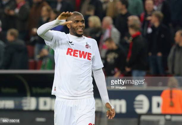 Anthony Modeste of Koeln looks on during to the Bundesliga match between 1 FC Koeln and Werder Bremen at RheinEnergieStadion on May 5 2017 in Cologne...