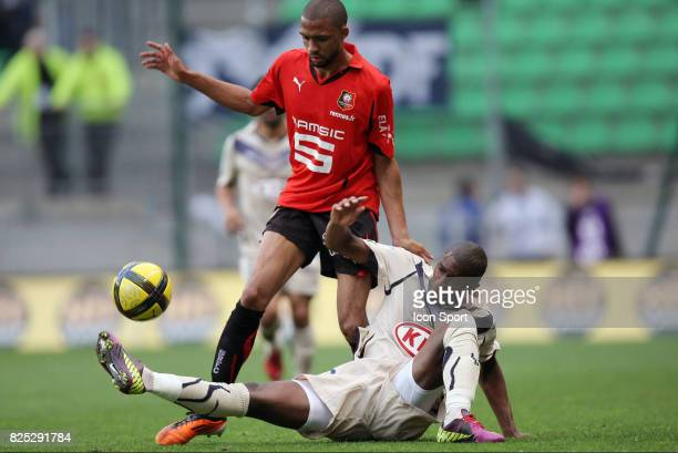 Anthony MODESTE / Samuel SOUPRAYEN Rennes / Bordeaux 33e journee de Ligue 1