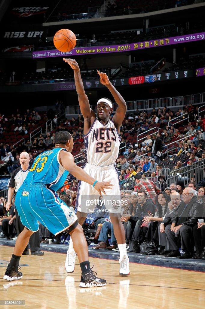 New Orleans Hornets v New Jersey Nets
