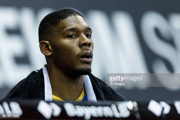 Anthony Morse of Braunschweig looks on during the easyCredit BBL Basketball Bundesliga match between FC Bayern Muenchen and Basketball Loewen...