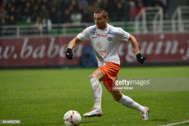 Anthony MOUNIER Troyes / Montpellier 11e journee de Ligue 1 Photo Dave Winter / Icon Sport
