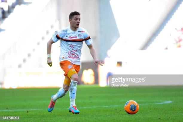 Anthony MOUNIER Lille / Montpellier 28e journee Ligue 1 Photo Dave Winter / Icon Sport